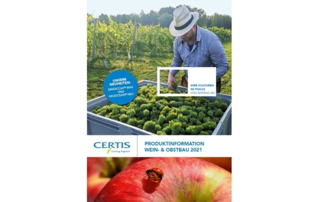 NEU: Produktinformation Wein- und Obstbau 2021