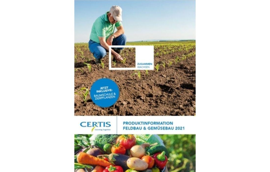 NEU: Produktinformation Feld- und Gemüsebau 2021